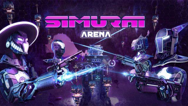 SIMURAI Arena Title Screen