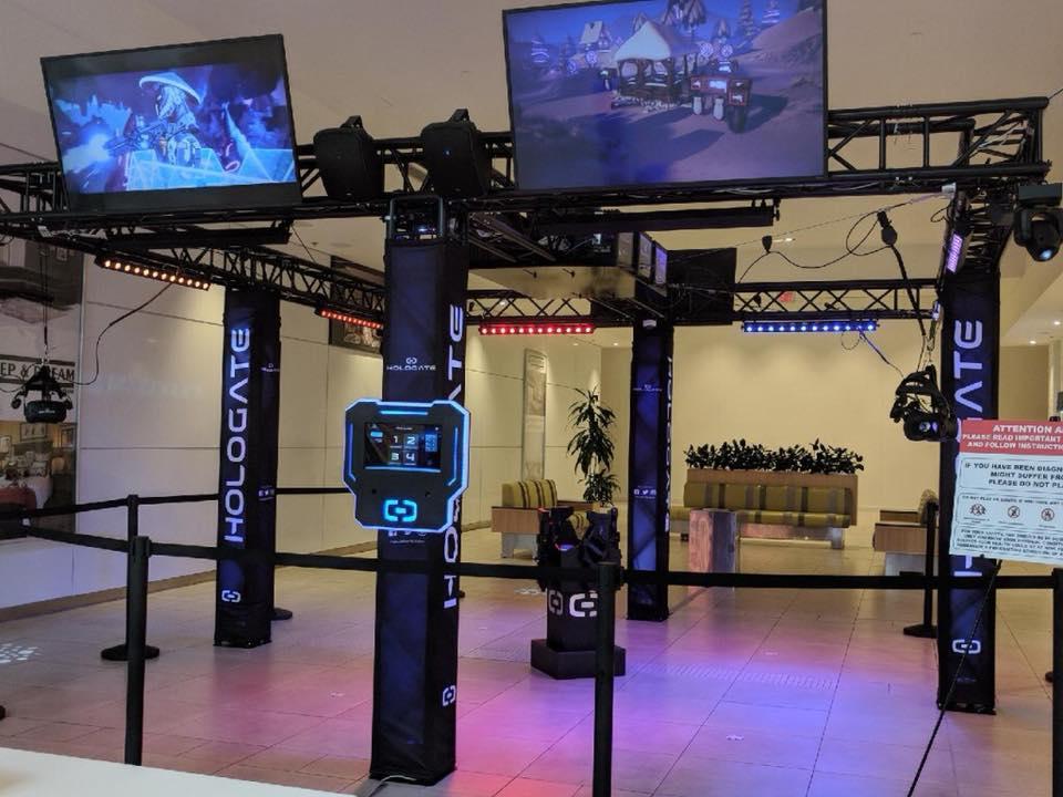 VR wonderland HOLOGATE system